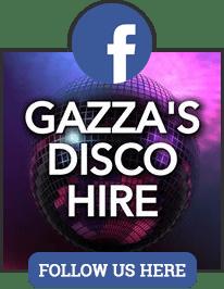GAZZA'S DISCO HIRE FACEBOOK LINK LOGO